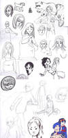 Sketches by Amandazon