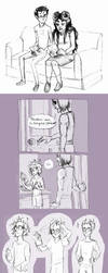Homestuck Sketchdump 3 by Amandazon