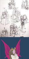 homestuck sketchdump 12