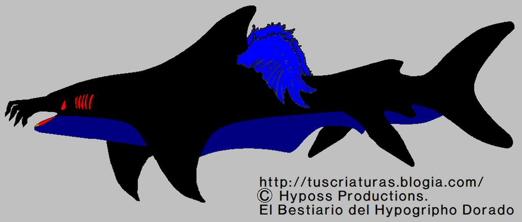 A Surrealist Winged Shark by Jakeukalane