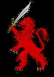 Los Leones Rojos de Hullandwa by Jakeukalane