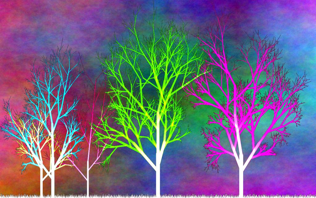 Árboles Interplanares, por Jakeukalane