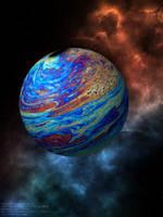 El Planeta Qhot-naun-phaqiasiari (imagen) by Jakeukalane