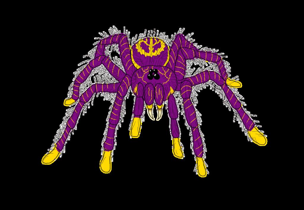 Upandu Tarantula done By Lupina07, commissioned by by Jakeukalane