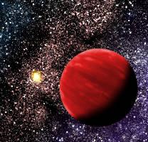 Mini planet: Dossor by Jakeukalane