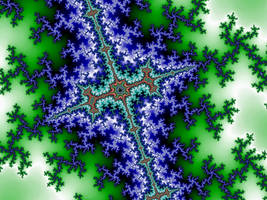 Interplanar Cross I by Jakeukalane