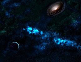 Like the moons, like the seas of stars... by Jakeukalane