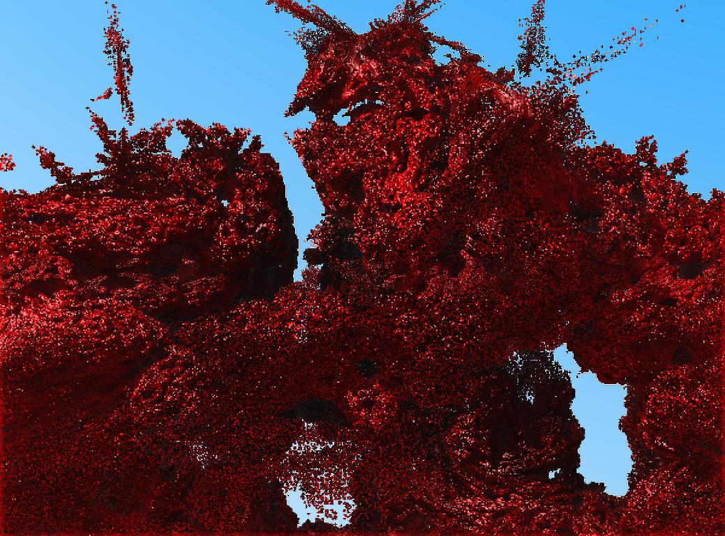 La Plaga de la Sangre Resplandeciente by Jakeukalane