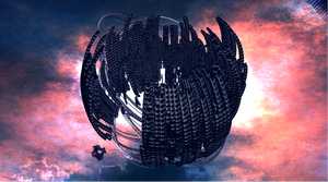 Nave espacial e interplanar dyssiana by Jakeukalane