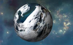 El Planeta Enwanda-Qitussili en 'Xhaawu II' by Jakeukalane