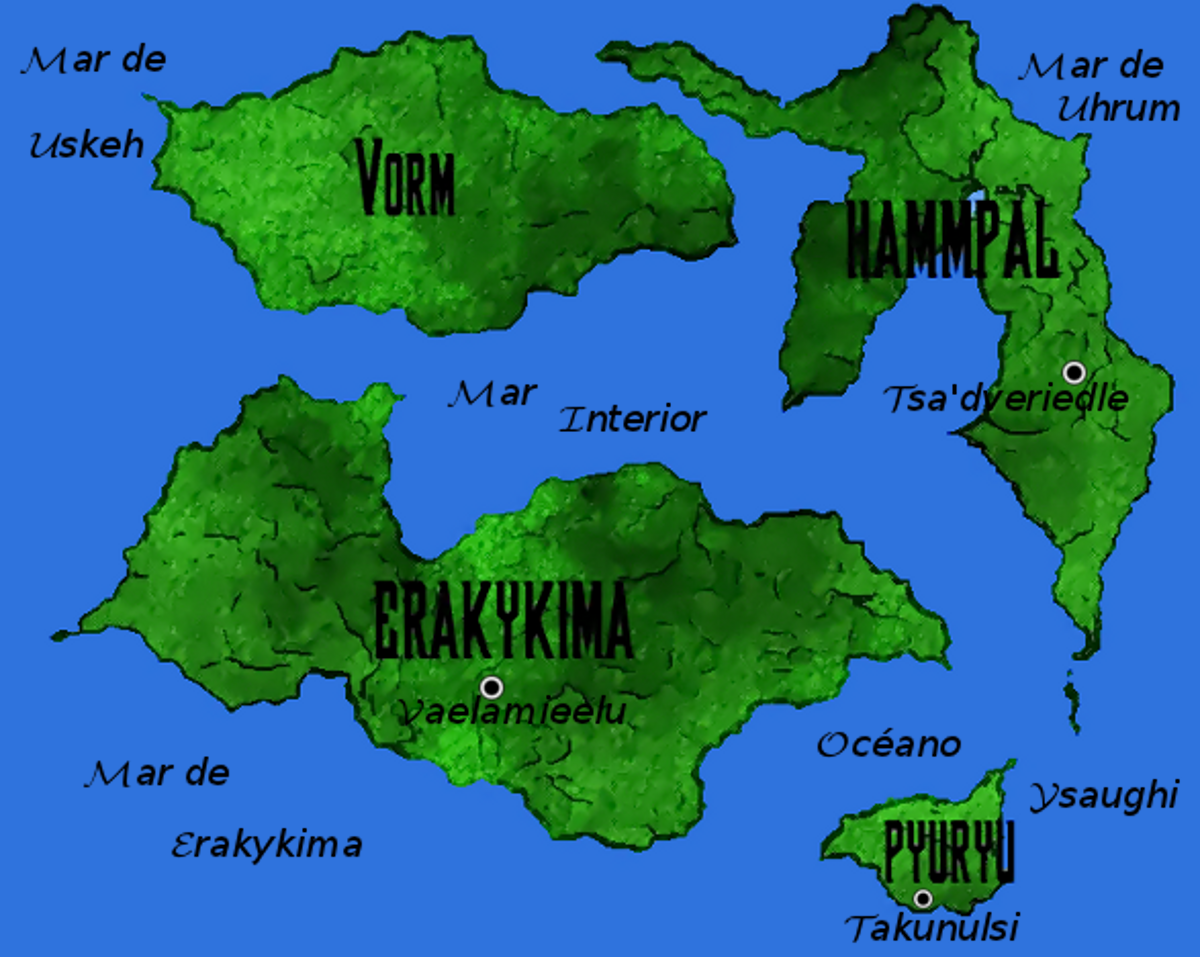 Mapa del Planeta Qhot-naun-phaqiasiari by Jakeukalane