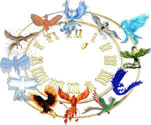 Los Doce Fenix del Tiempo by Jakeukalane