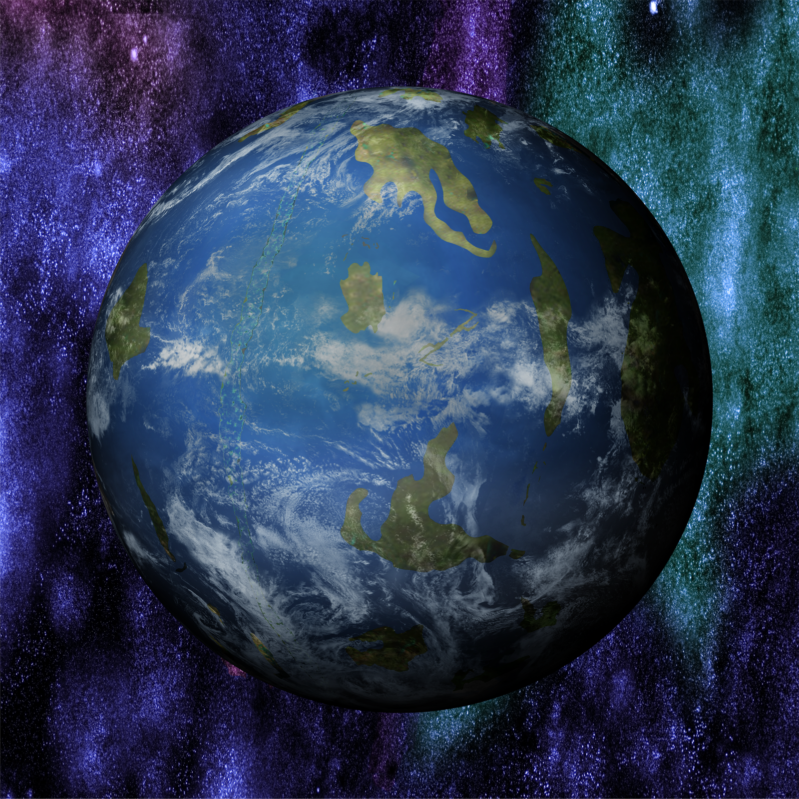El Planeta Ewdtia by Jakeukalane