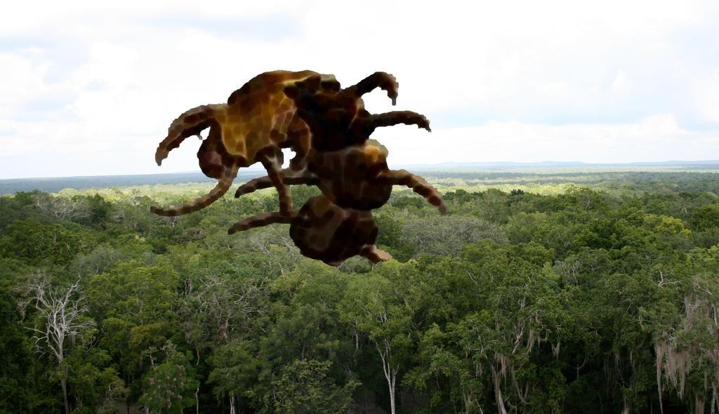 Las Tiranopendras Gigantes de Vanaamaxili por Jakeukalane