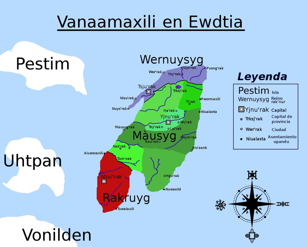 Vanaamaxili en Ewdtia II por Jakeukalane