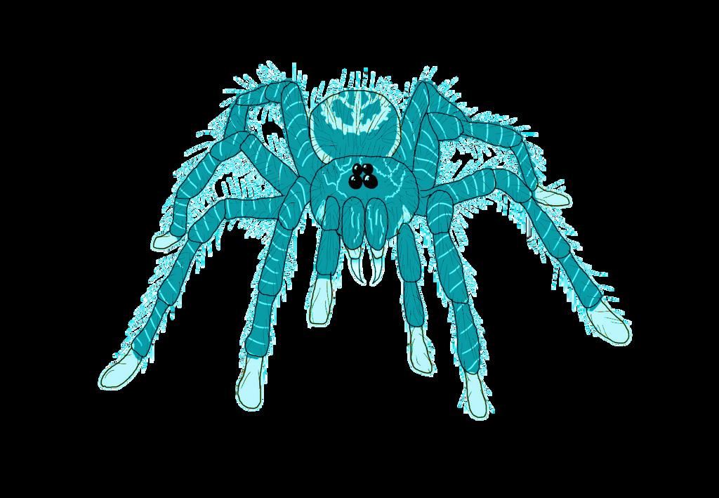 Las Aranhas Gigantes Turquesas de Vanaamaxili by Jakeukalane