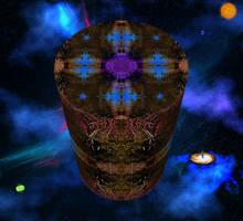Walking Out to the Universe,tribute to Chasmandala by Jakeukalane