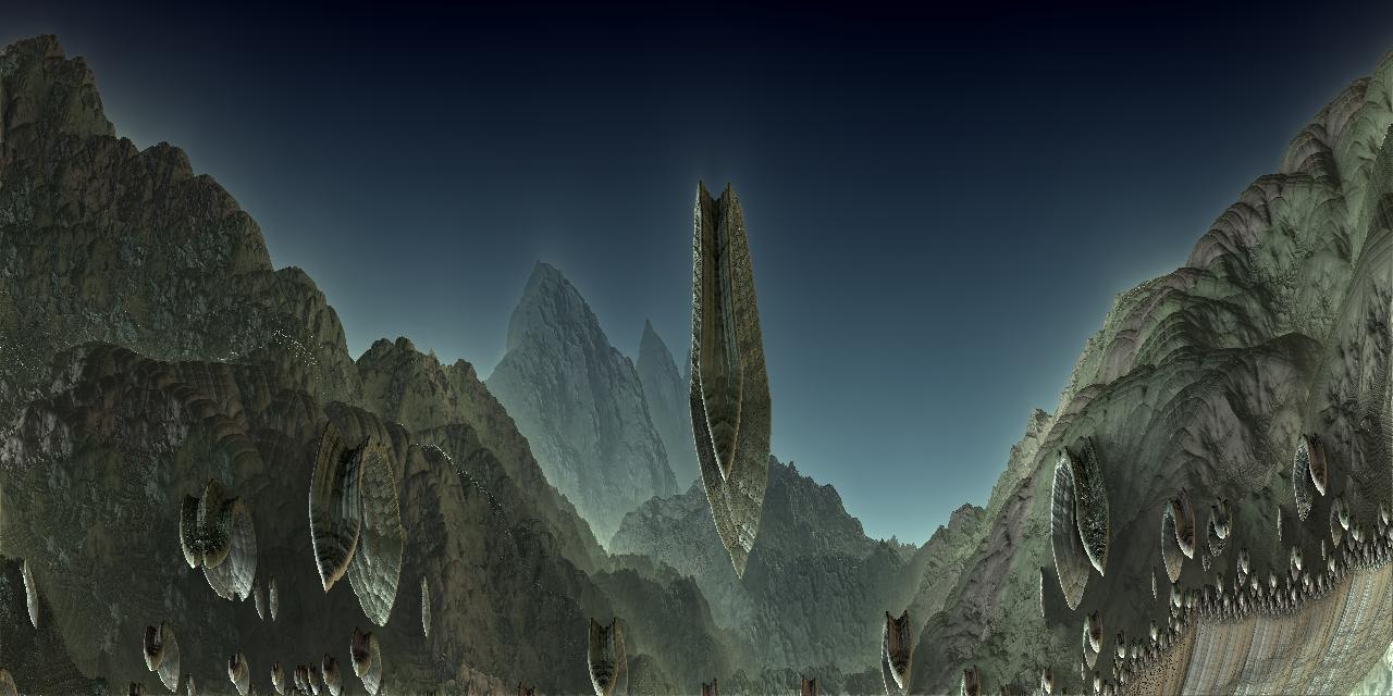 The Fractal Mountain by Jakeukalane