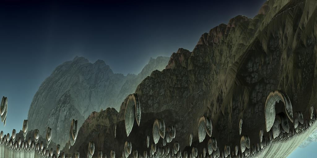 The Fractal Hills by Jakeukalane