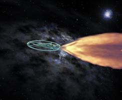 The Psamyrian spaceship by Jakeukalane