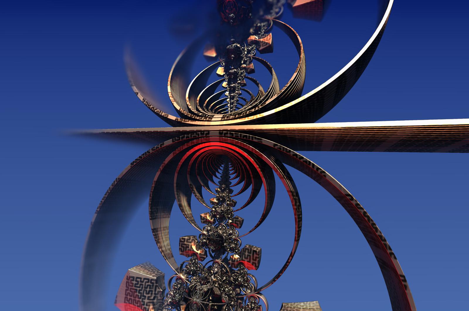 Las abstracciones espaciales by Jakeukalane