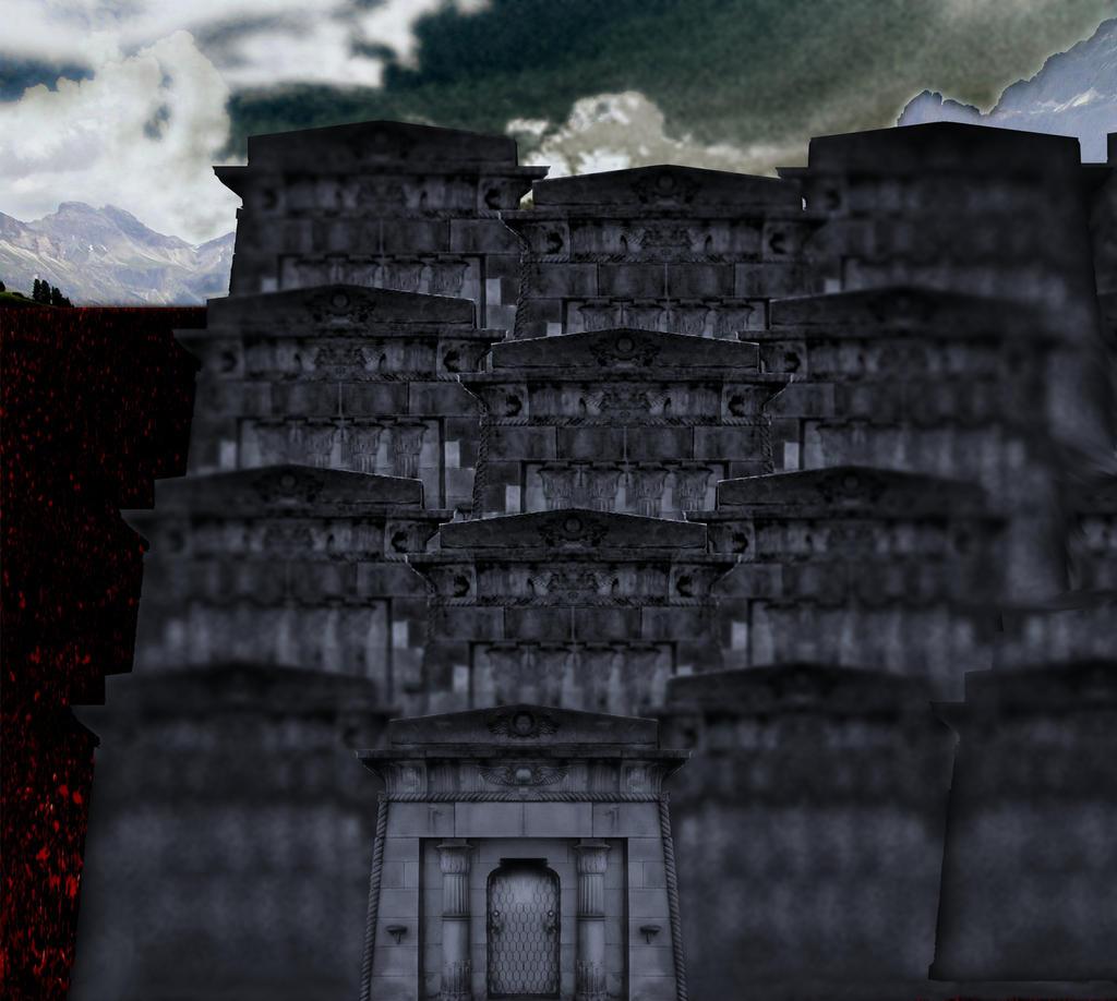 El complejo templario de Parasus por Jakeukalane