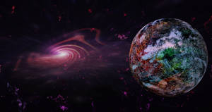 The Valhalla Planet and a black hole