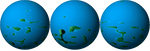 El Planeta Cymoh (hemisferios) by Jakeukalane