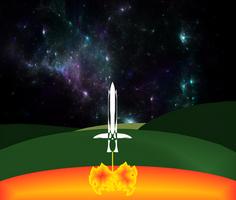 Nave espacial humana by Jakeukalane