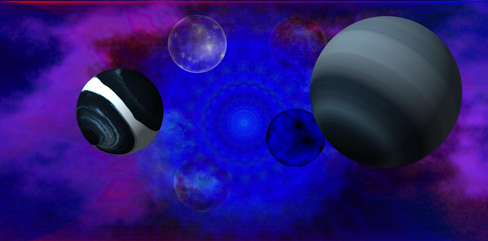 El Xalto de los Planetas Xeluphlaunosos y Wonru by Jakeukalane