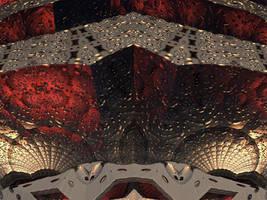 A fractal mine by Jakeukalane