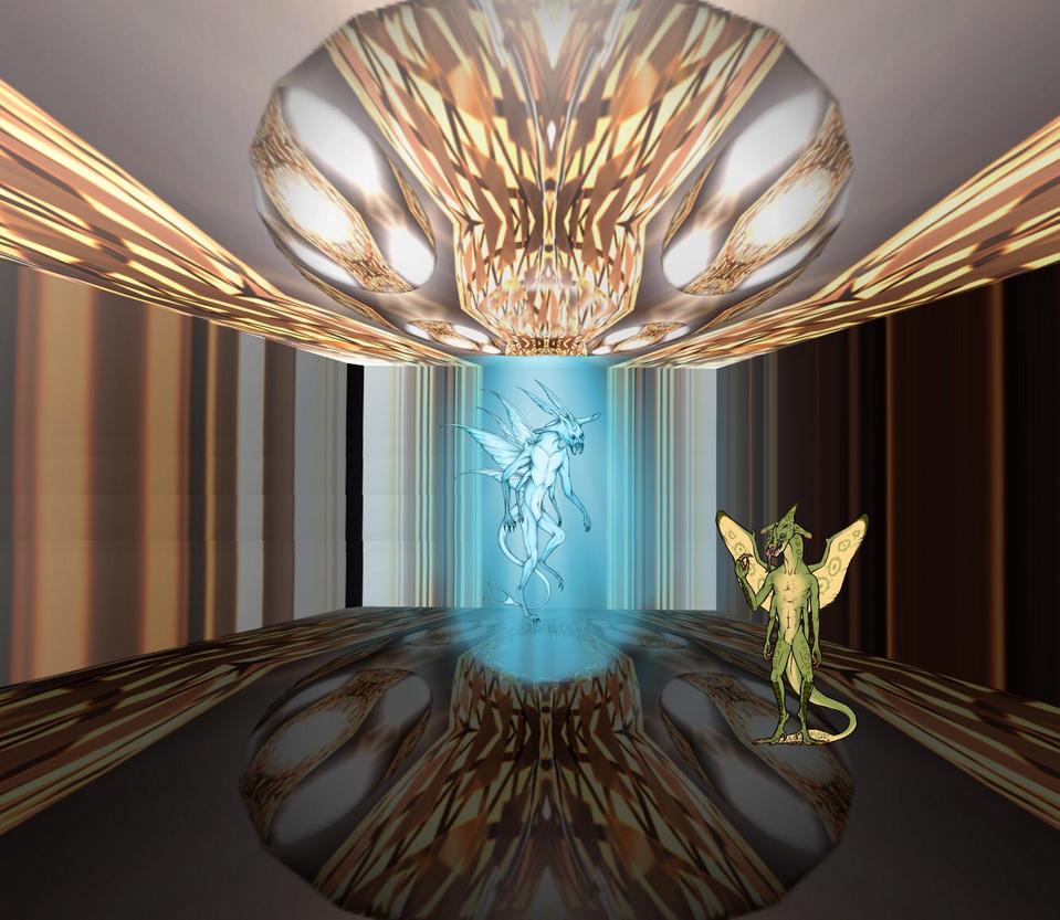 The Eelrenumeraalls Chamber by Jakeukalane