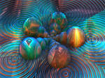 Flow of Universes - 3D version (phung B #1)