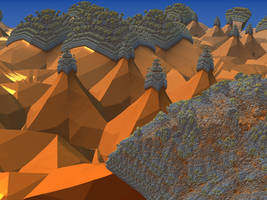 The Temples of the Desert by Jakeukalane