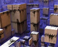 The Fractal City in modern times II by Jakeukalane