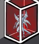 A Silver dussian imprisoned