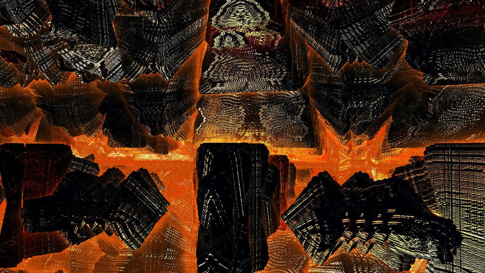 Fractal lava by Jakeukalane