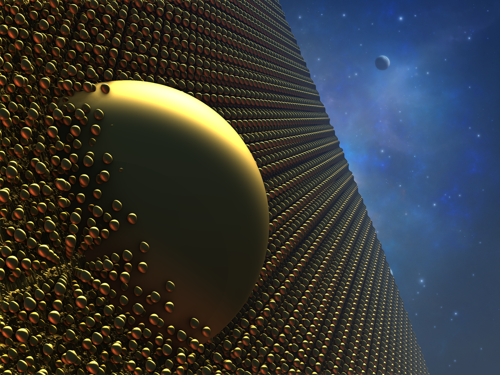 The Fractal Space Station by Jakeukalane on DeviantArt  Fractals In Space