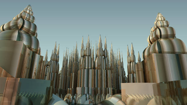 The Glass City in the Fractal City