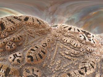 A Deep Space Station I by Jakeukalane