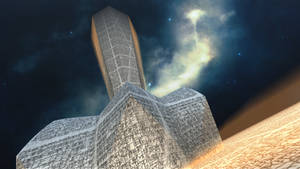 Xuyyeh-hum monolith by Jakeukalane