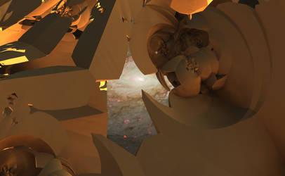 Desert in Space by Jakeukalane