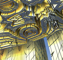 The North Gates of the Fractal City by Jakeukalane