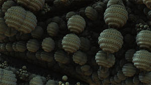 It's raining fractal worlds by Jakeukalane
