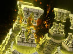 Dubla, the Fractal Fire Gate Towers