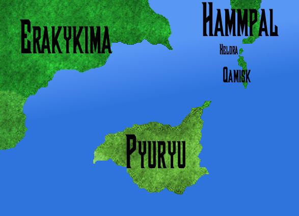 El Continente Pyuryu, por Jakeukalane