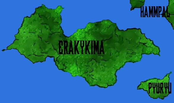 El Continente Erakykima, por Jakeukalane