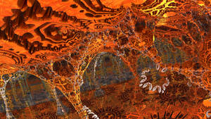 A fantasy cave by Jakeukalane