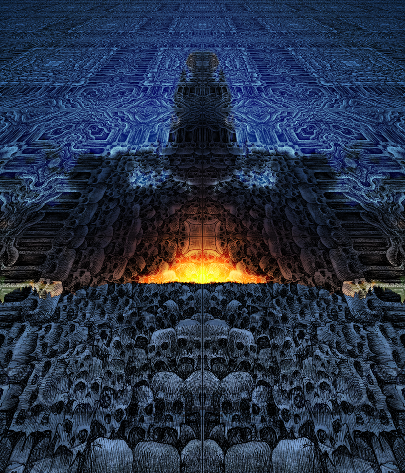 Gates of Planes of Horror (tribute to offermoord) by Jakeukalane