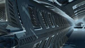 Inside the fractal spaceship II